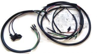 Instalacja/wiązka elektryczna Iż 350 ,DKW 350/1 oplot bawełniany!