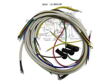 Instalacja elektryczna WSK 125 (M06-B1) biała