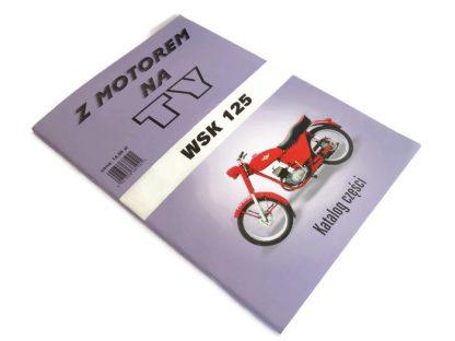 Katalog części WSK 125,schemat,instrukcja
