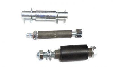 Tulejki siedzenia tył komplet DKW Nz250, Nz350, Nz350/1, Iż49, 350