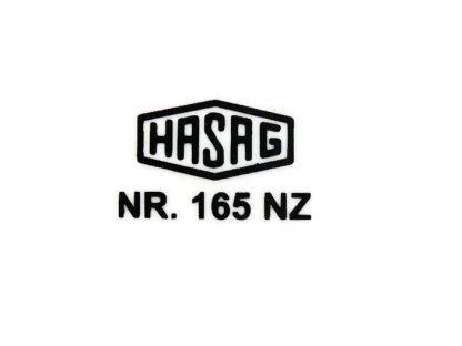 Kalkomania HASAG- lampa typ 3