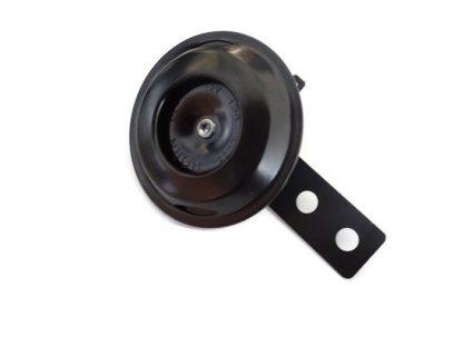 Klakson sygnał dźwiękowy 12V czarny