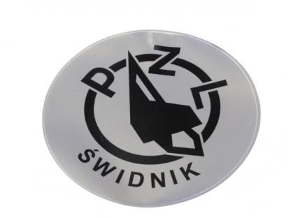 Naklejka na bak zbiornika WSK 125,175 PZL Świdnik