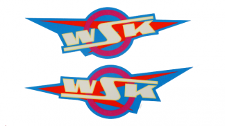 Kalkomania wodna naklejka zbiornika paliwa WSK 125