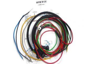 Instalacja elektryczna WFM (krótką lampą ) czarna