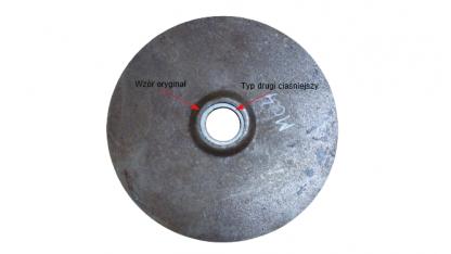 Blacha/dekiel wału SHL M04, WFM wzór oryginał