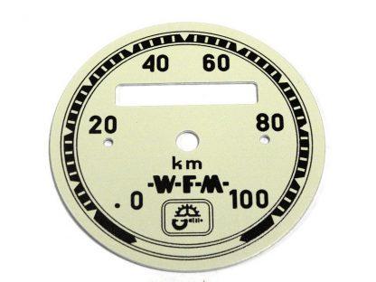 Cyferblat tarcza licznika WFM Kremowy