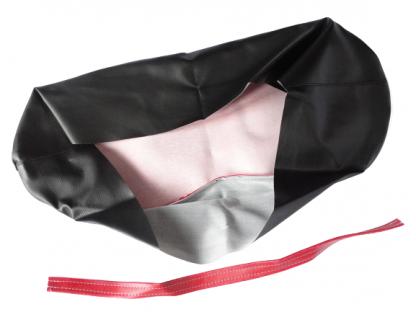 Pokrowiec czerwono czarny - biała kedra WSK 125 B1