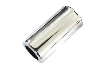 Szklanka tylnego amortyzatora Wsk B1 dwuramówka inox