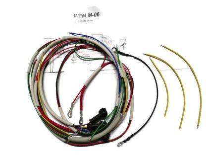 Instalacja elektryczna WFM M06 (z długą lampą) biała