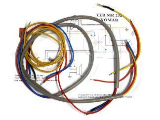 Instalacja elektryczna Komar 232 szara