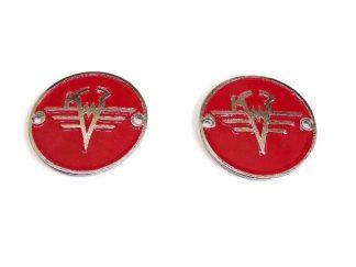 Emblematy na zbiornik K750 czerwony