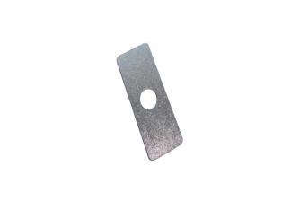 Blacha/podkładka gumy siedzenia M72