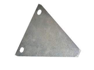 Blacha trójkąt chlapacza przód WSK Kos