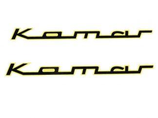 Kalkomania wodna Komar