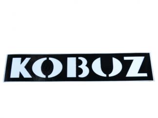 Naklejka szablon pokryw bocznych WSK 175 Kobuz