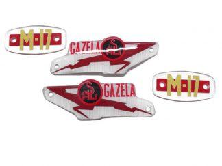 Emblemat logo napis znaczek bak SHL M17 Gazela.