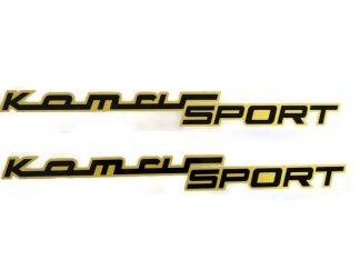 Kalkomania Komar Sport