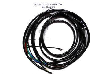 Instalacja elektryczna czarna SHL M04