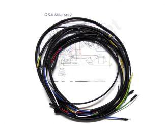 Instalacja elektryczna Osa M50, M52 czarna