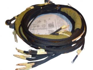 Instalacja elektryczna BMW R71, M72 oplot bawełna 100%