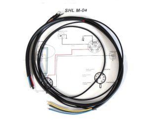 Instalacja elektryczna oplot bawełniany SHL M04