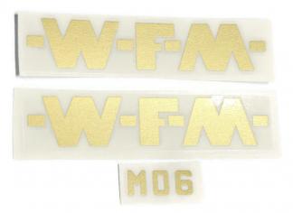 Kalkomania WFM M06 Złota