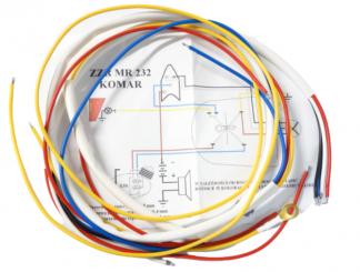 Instalacja elektryczna Komar 232 biała