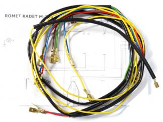 Instalacja elektryczna Romet Kadet M780