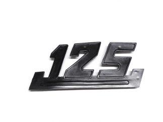 Napis emblemat WSK 125 czarny