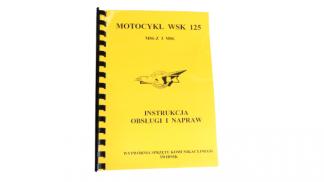 Katalog instrukcja obsługi i napraw WSK 125 M06