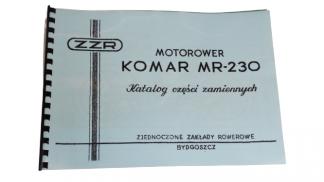 Katalog części zamiennych Komar MR 230