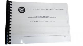 Katalog części zamiennych WSK 175