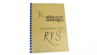 Katalog części zamiennych Ryś MR1