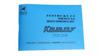 Katalog Instrukcja Obsługi Komar 2320, 2330