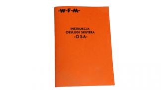 Katalog Instrukcja Obsługi WFM Osa