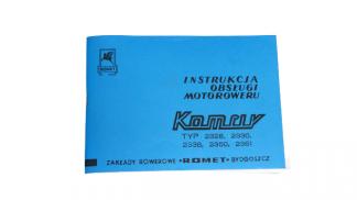 Katalog Instrukcja Obsługi Komar