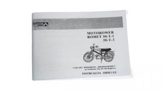 Katalog Instrukcja Obsługi Romet 50-T-1, 50-T-3