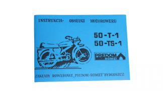 Katalog Instrukcja Obsługi Romet 50-T-1, 50-TS-1