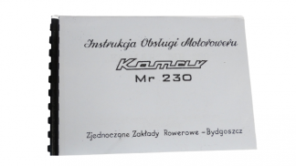 Katalog instrukcja Komar MR 230
