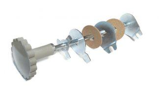 Amortyzator skrętu pokrętło SHL M11 – szare komplet