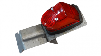 Lampa tył z uchwytem surowym Motorynka Romet
