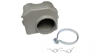 Tłumik szmerów ssania kpl (obudowa filtra powietrza) Romet Ogar 205, Motorynka sz