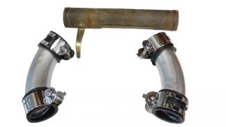 Kolektor ssący i kolanka gaźnika M72 zestaw