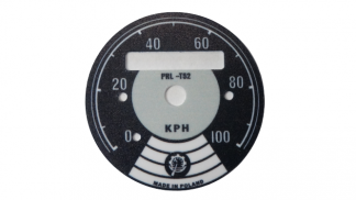 Cyferblat tarcza licznika WSK licznik do 100 km/h
